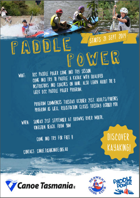 Paddle Power Info Sheet